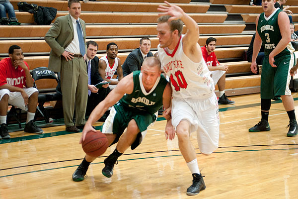Men's Basketball Struggles, Rongstad Hits 1000! - The ...